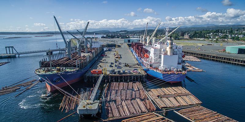 Port of Nanaimo, British Columbia, Canada