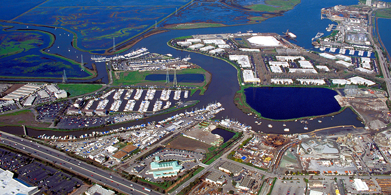 Port of Redwood City, California