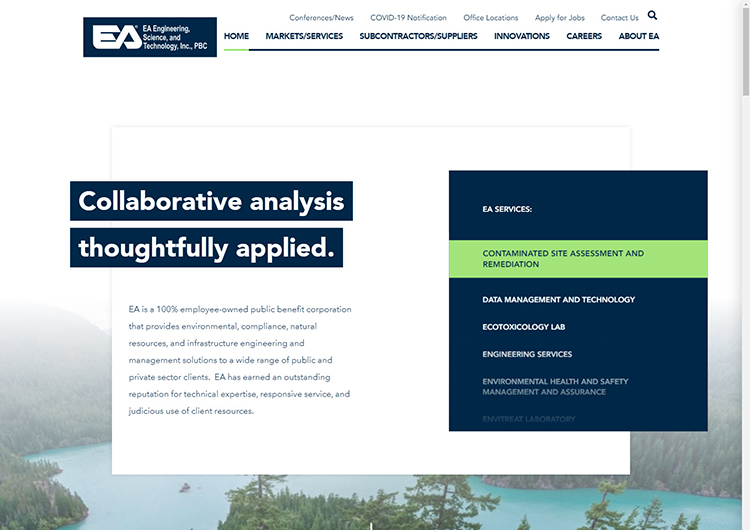 EA launches new website