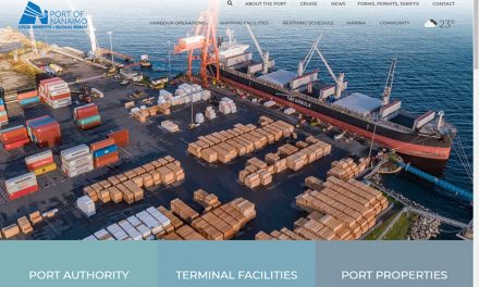 Port of Nanaimo unveils new website