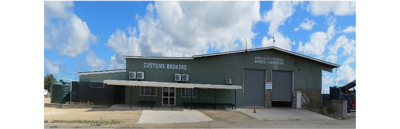 Port of Tonga opens new customs brokers office
