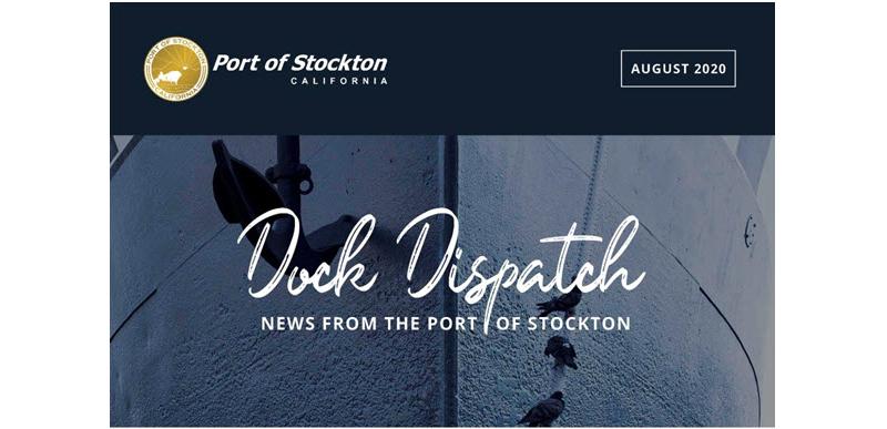 Port of Stockton unveils new quarterly e-newsletter