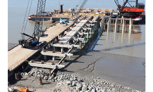 Port of Alaska making great progress on Petroleum/Cement Terminal