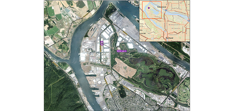 Port of Portland — Rivergate Lot 4 project summary