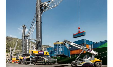 Liebherr Port Equipment impresses Salerno Container Terminal SPA (SCT) with high quality and efficiency