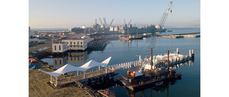 Liftech and partners see new ferry terminal built at Alameda Seaplane Lagoon