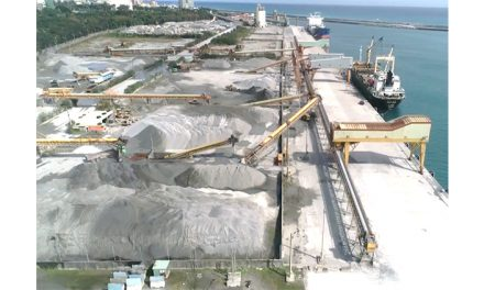 Hualien Port East Sand North Transport increases 1.6 million tons of operating energy
