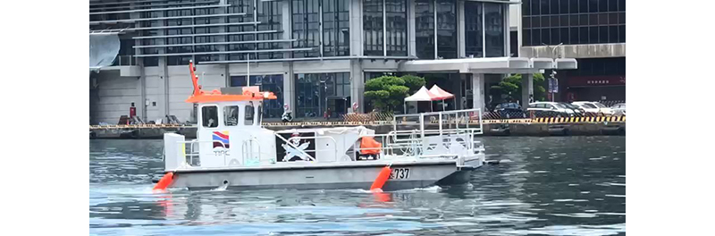 New, multifunctional anti-pollution workboat set to join the line to advance Port of Keelung's 'Green Port' ambitions
