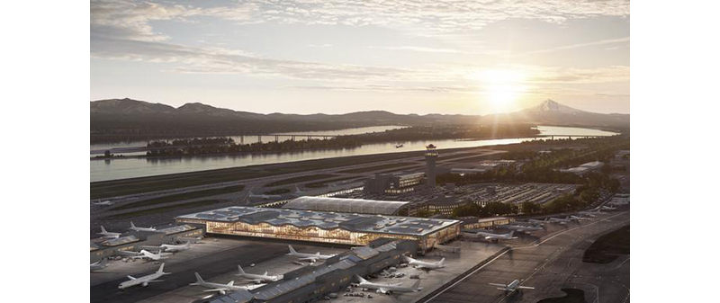 Port of Portland's PDX turns 80; shares early look at new airport design
