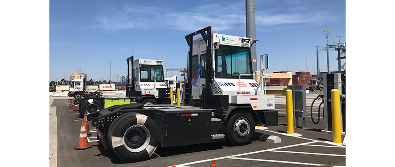More zero-emissions equipment moving cargo in Long Beach