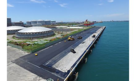 Asphalt Resurfacing Program part of steady effort to further enhance quality of Port of Taichung operating environment