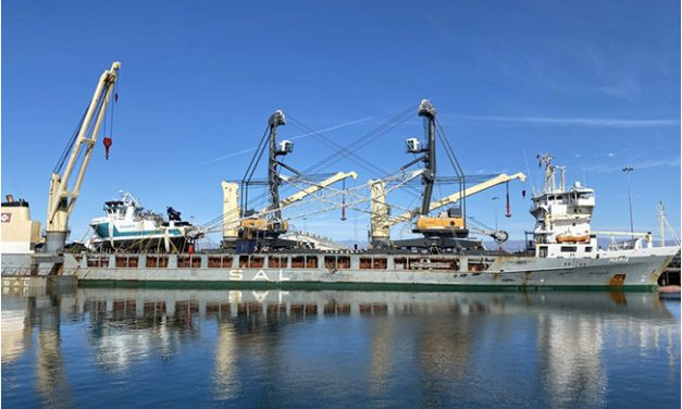 Ceres makes its mark at the Port of Hueneme with two new hybrid cranes