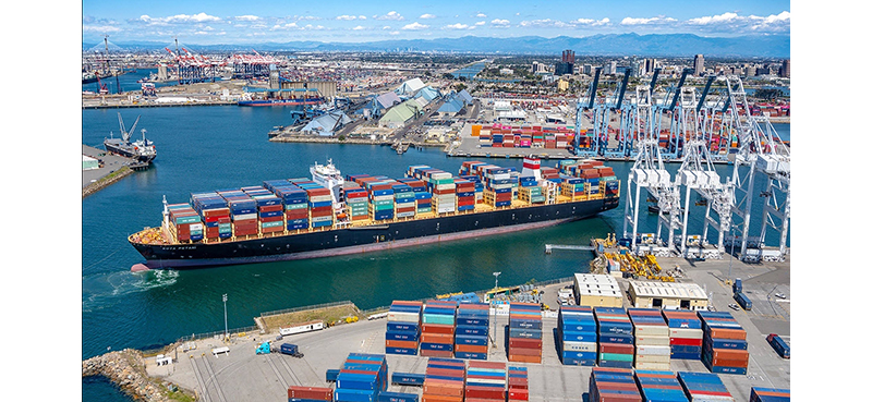 Port of Long Beach reaches busiest month on record