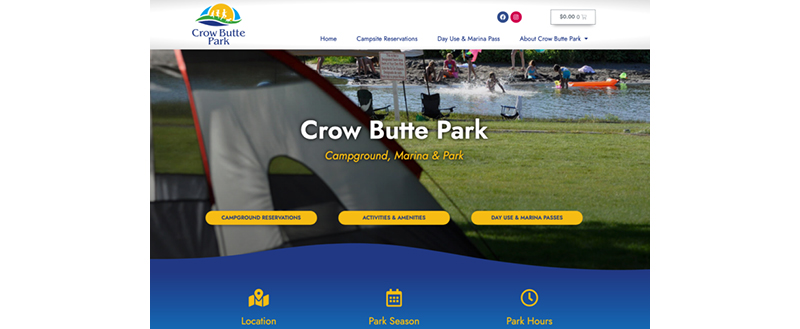 Port of Benton launches new website for Crow Butte Park 2021 season