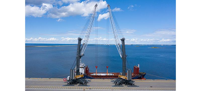Liebherr remains Mobile Harbour Crane market leader