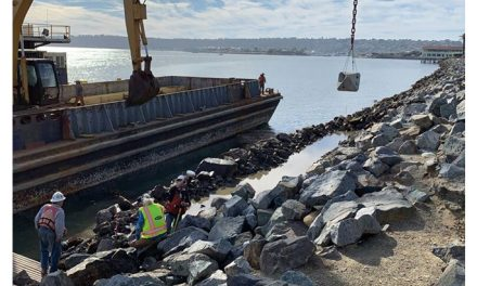 Port of San Diego and ECOncrete begin pilot project to boost coastal infrastructure and ecosystems on Harbor Island