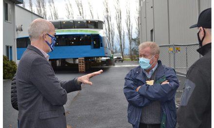 U.S. Representative Rick Larsen tours Port of Skagit projects
