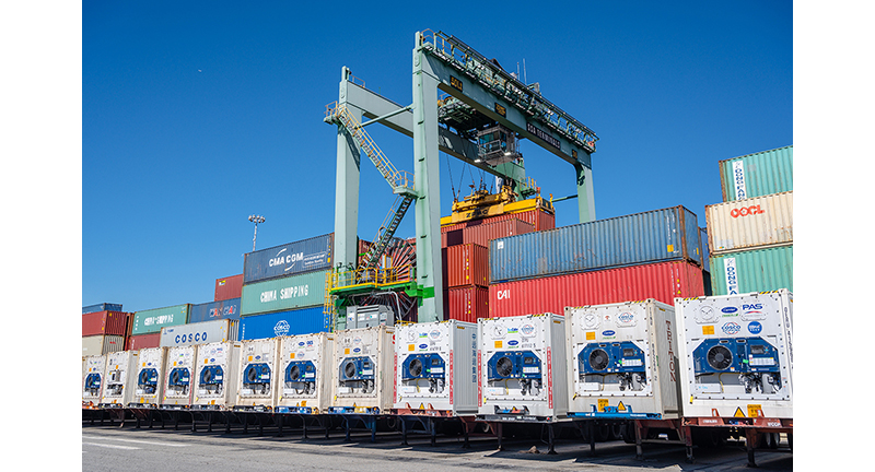 Electric stacking cranes enter service at Port of Long Beach