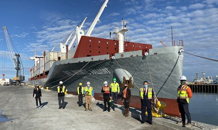 Del Monte brings green vessels to Port of Hueneme