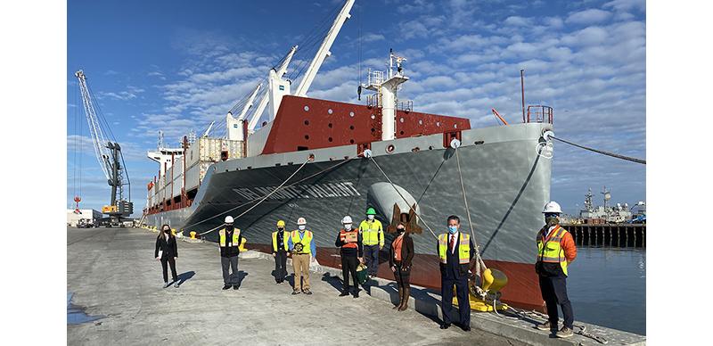 Del Monte brings green vessels to Port of Hueneme