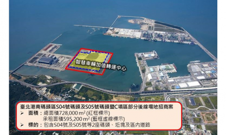 Taipei Port Set to step up as Smart Car Logistics Port