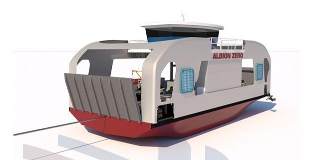 Albion Zero – true zero-emission ferry