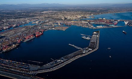 Port of Long Beach welcomes Spacex