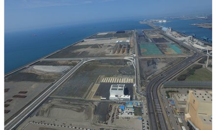 Road construction and enhancement work finished at Port of Taichung's Dedicated Offshore Wind-Farm Industry Park