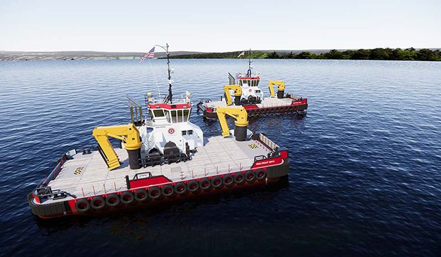 Damen & Conrad Shipyard enter license agreement to build first US multi cats for Great Lakes Dredge & Dock