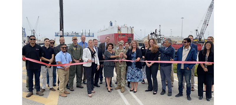 Port of Hueneme celebrates completion of deepening project
