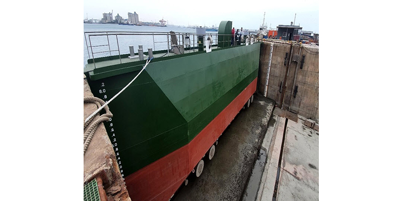 Installation of new caisson gate at Port of Taichung Dockyard gives strong, welcome boost to Port's vessel maintenance and repair capabilities