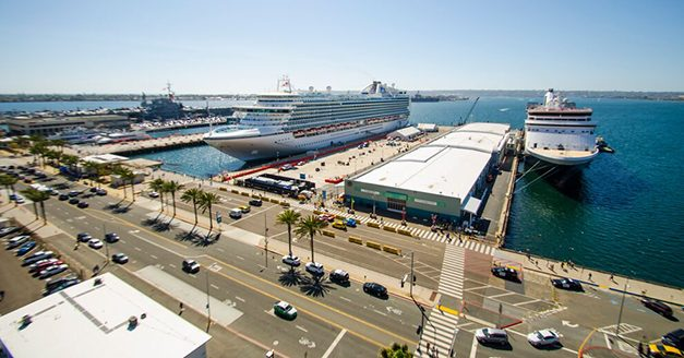 Port of San Diego celebrates and welcomes cruise passengers back to San Diego