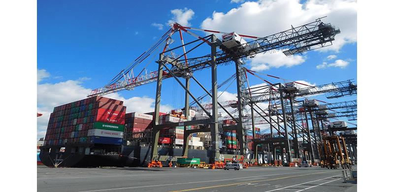 Three new Liebherr Megamax STS for Maher Terminals LLC
